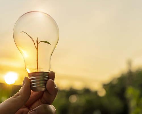 Nachhaltigkeit Energie